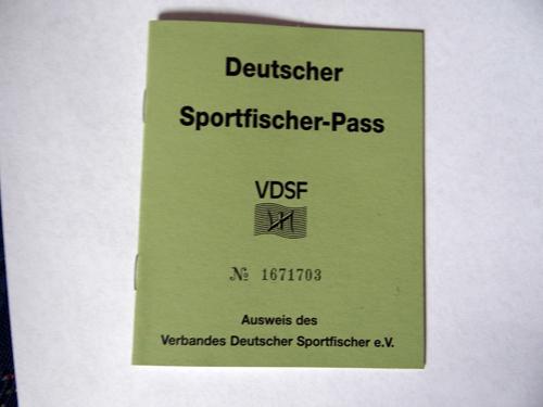 Deutscher Sportfischer-Pass